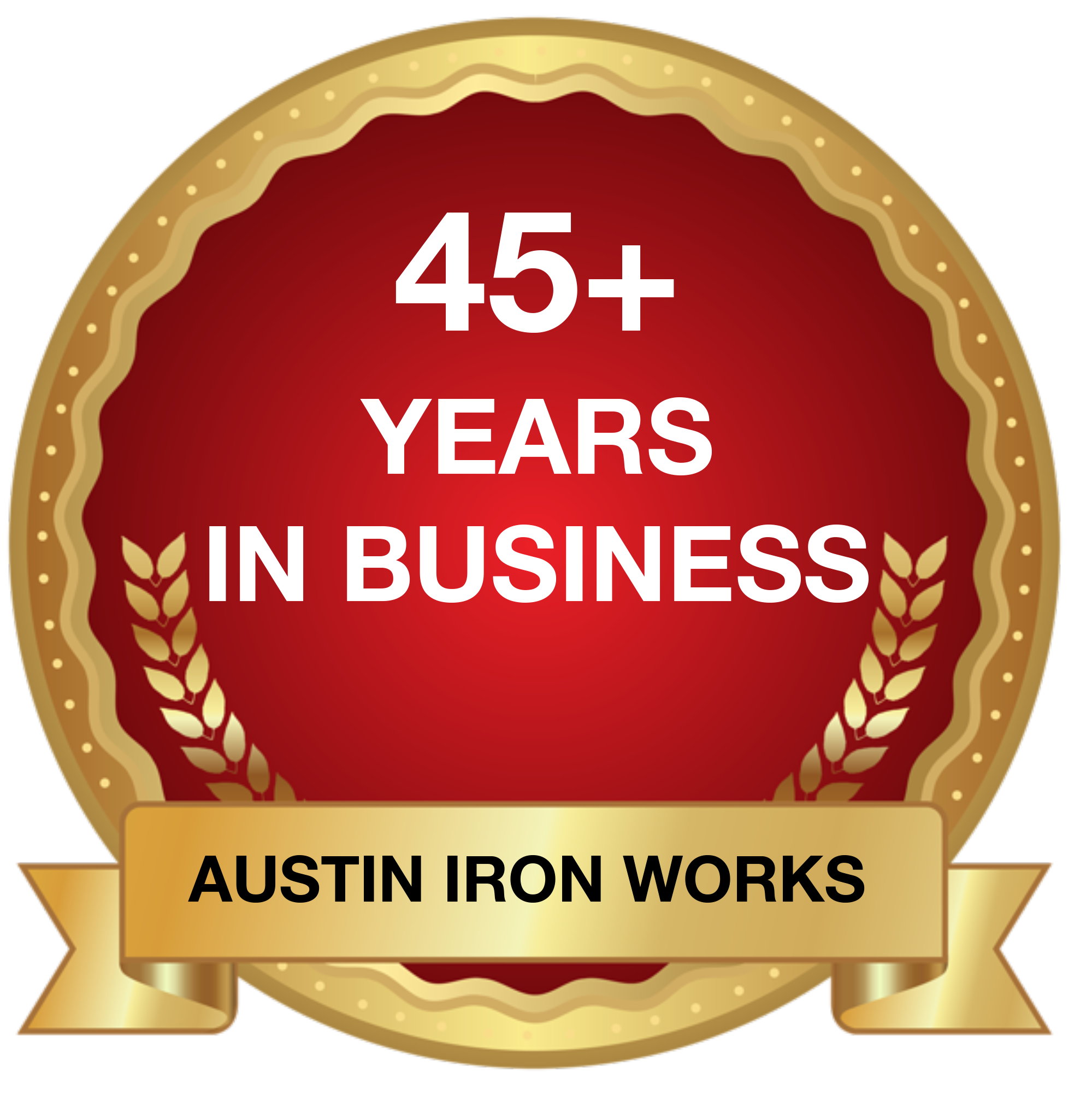 45+ Years in Business