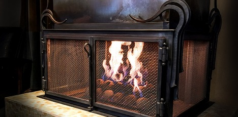Fireplace Enclosure